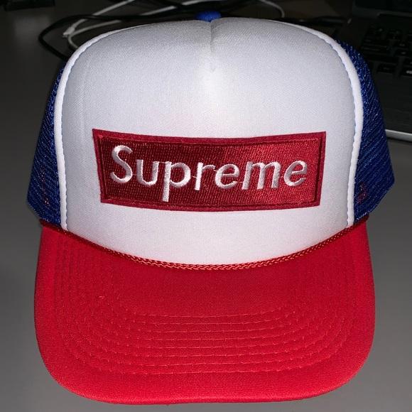 4599c8dc39c Supreme Trucker SnapBack Hat. M 5c7f68748ad2f9ba72910f0e